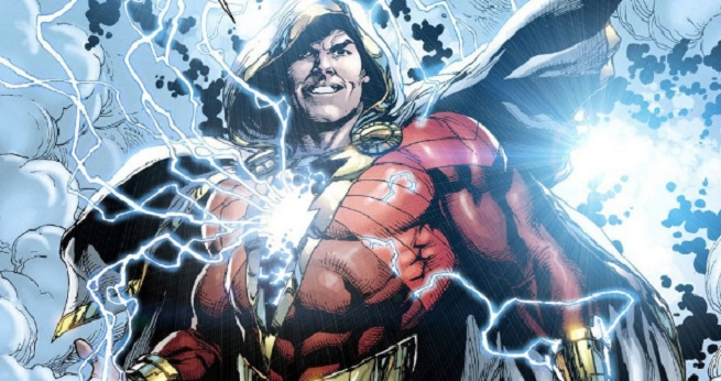 The New 52 version of Shazam, designed by Gary Frank