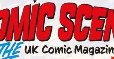 Comic Scene UK Logo