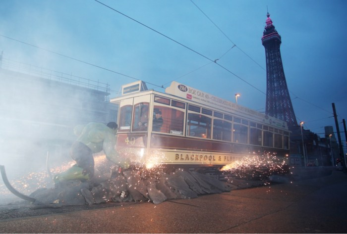 The Hulk in Blackpool - Madame Tussauds - Flares