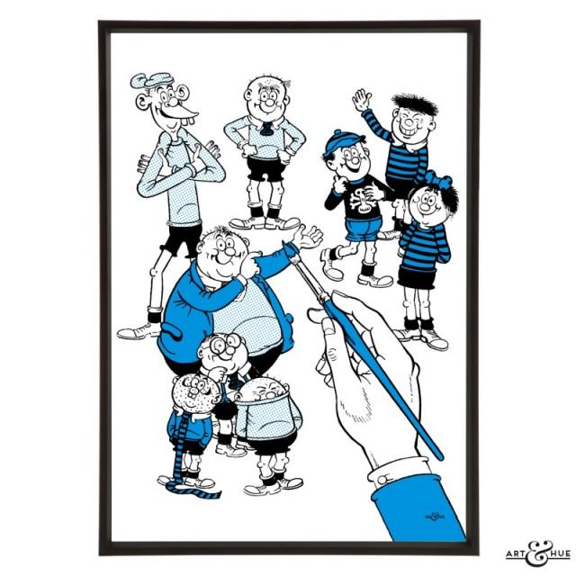 Art & Hue Beano -  Bash Street Kids