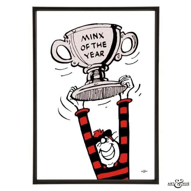 Art & Hue Beano -  Minnie the Minx