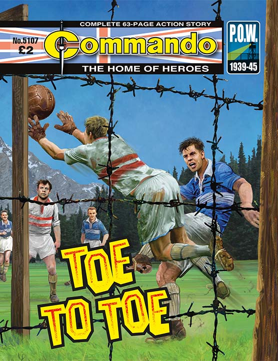 Commando 5107: Home of Heroes: Toe to Toe