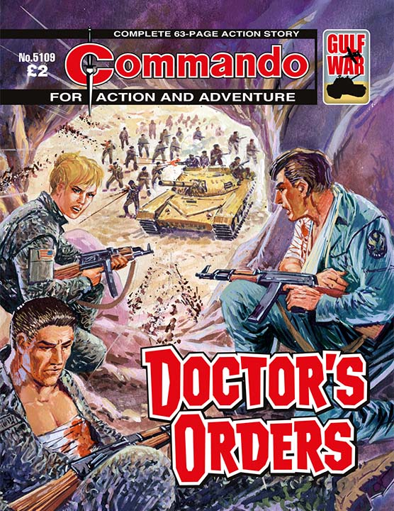 Commando 5109: Action and Adventure: Doctor's Orders