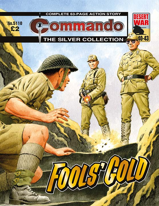 Commando 5110: Silver Collection: Fools' Gold