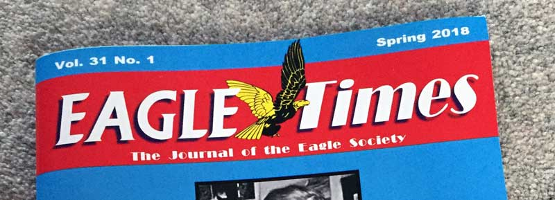 Eagle Times Volume 31 - Number 1 - Cover - SNIP
