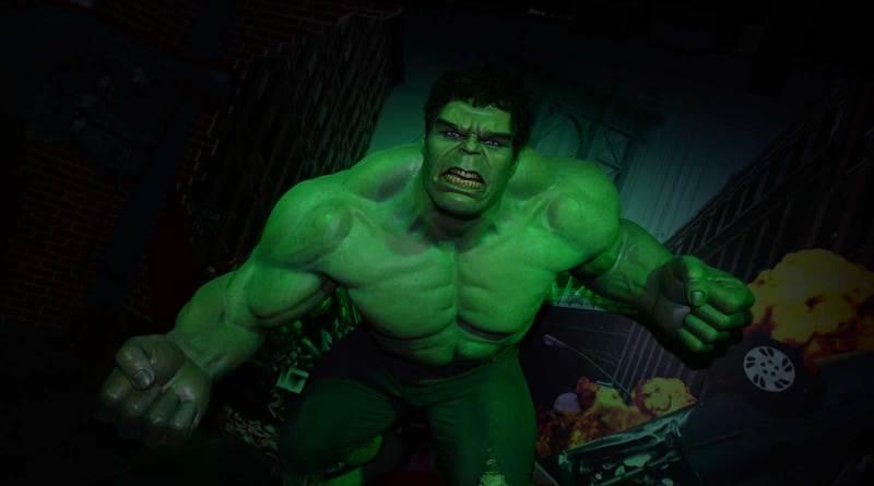 Madame Tussauds Blackpool - Marvel Superheroes - Hulk