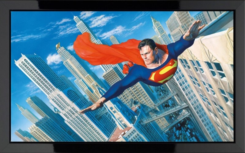 Look! Up In The Sky! Superman by Alec Ross