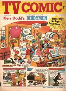 """TV Comic featuring """"Ken Dodd's Diddymen"""" on the cover"""