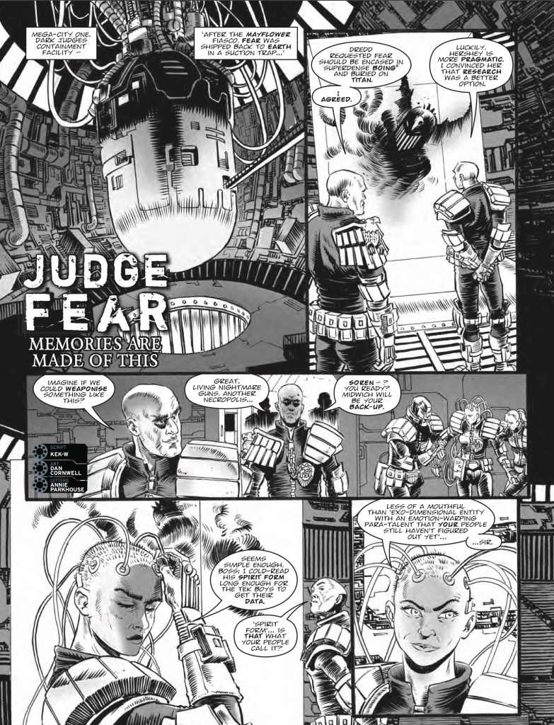 2000AD Prog 2073 - Judge Fear