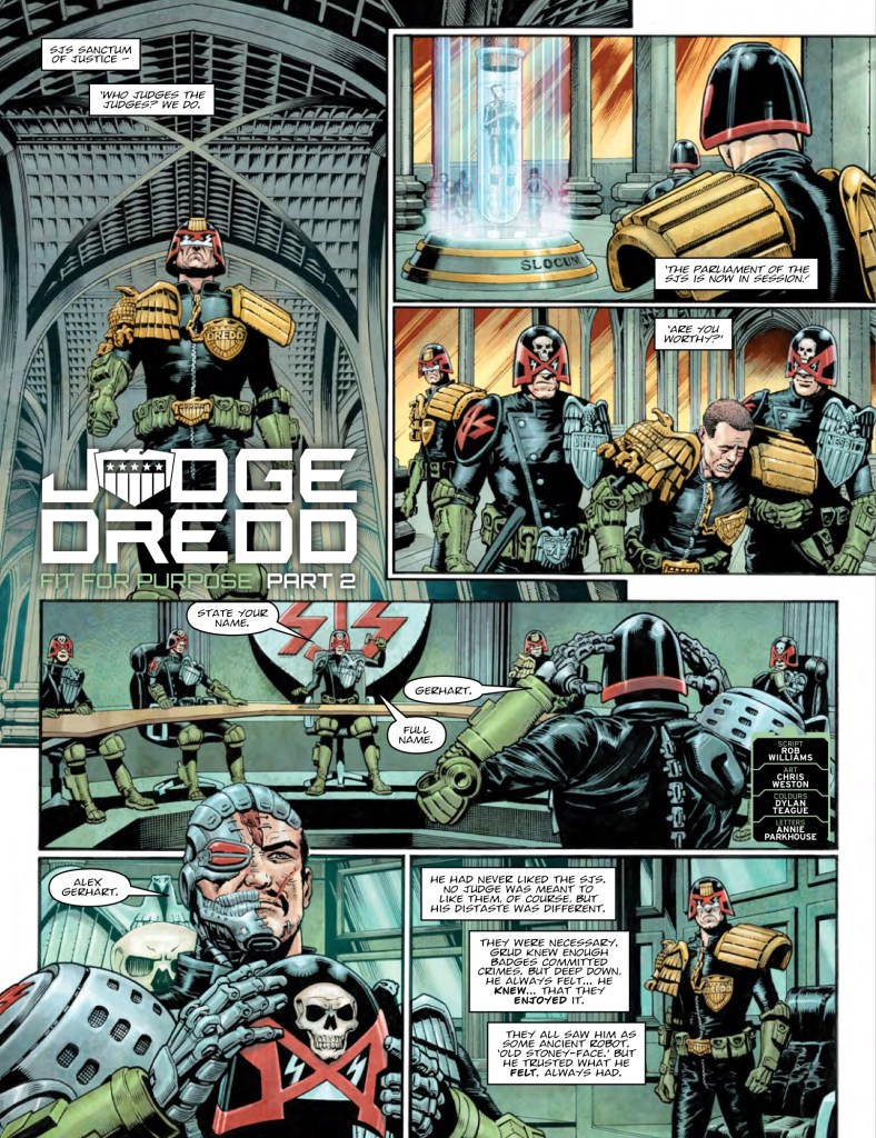 2000AD Prog 2074 - Judge Dredd