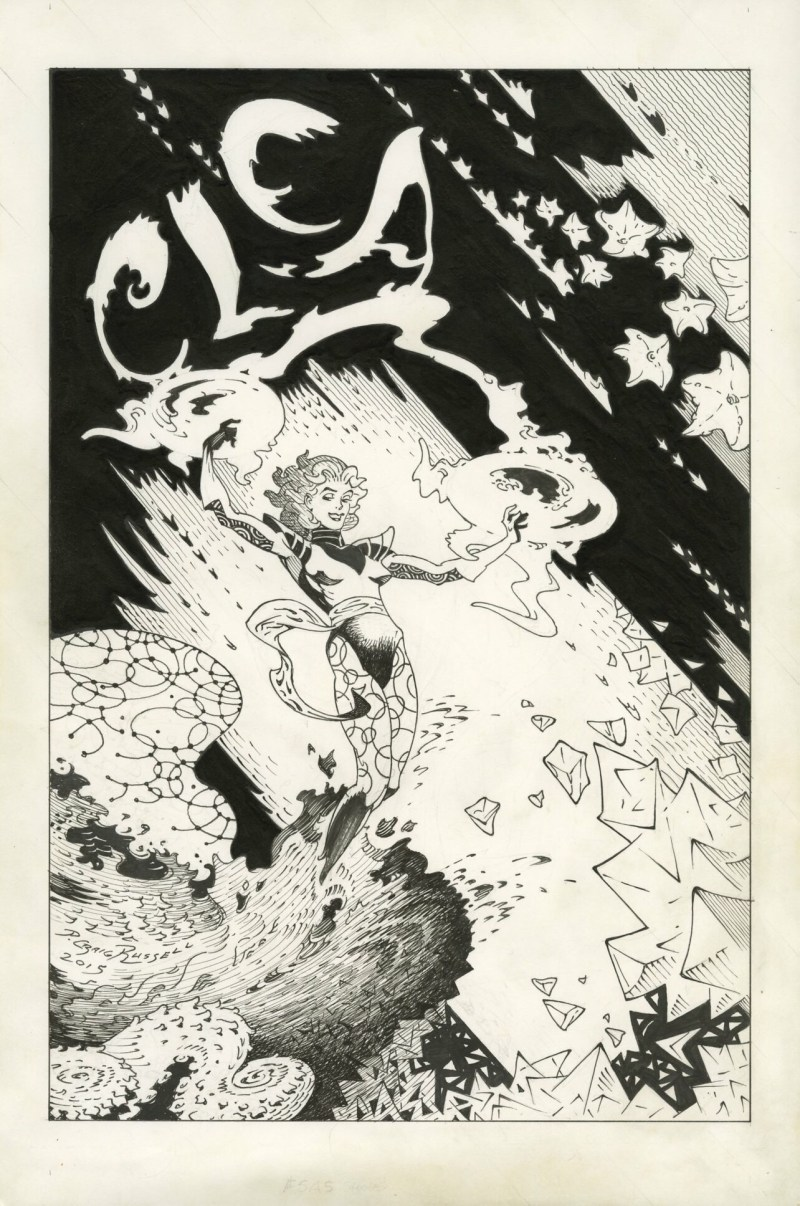 Clea (from Doctor Strange) art by P Craig Russell