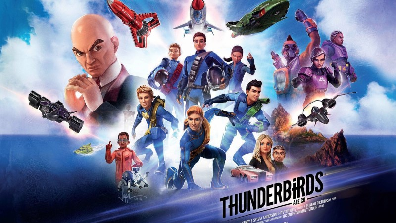 Tube Surfing: new Thunderbirds are Go toy line in the works, Joy of the Rovers and Deadpool (2)!