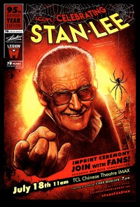 Icon: Cleberating Stan Lee - art by Paul Shipper
