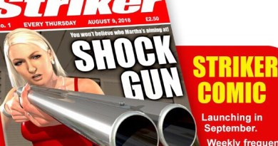 Striker Comic Issue One - Kickstarter Promo SNIP