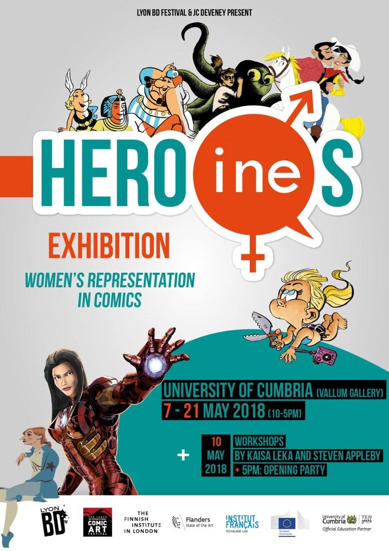 Hero(Ines) Exhibition Poster 2018 UK