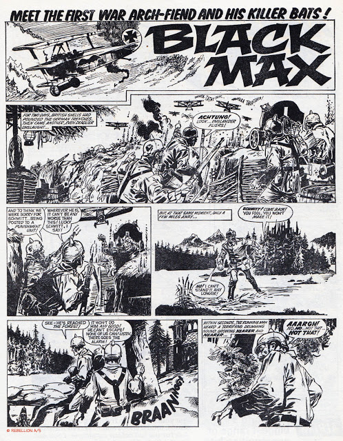 Black Max - Lion and Thunder cover dated 20th March 1971 Page 1