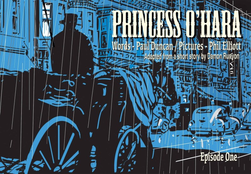 Aces Weekly 33 - Princess O'Hara by Paul Duncan and Phil Elliott