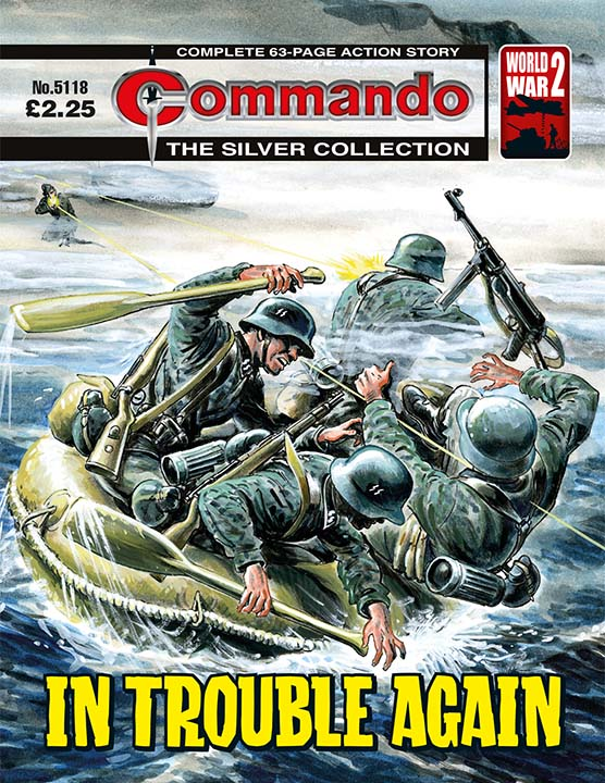 Commando 5118: Silver Collection - In Trouble Again