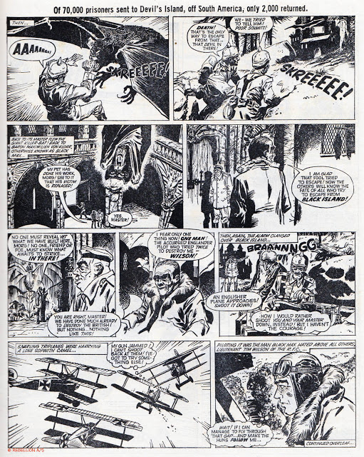 Black Max - Lion and Thunder cover dated 20th March 1971 Page 2