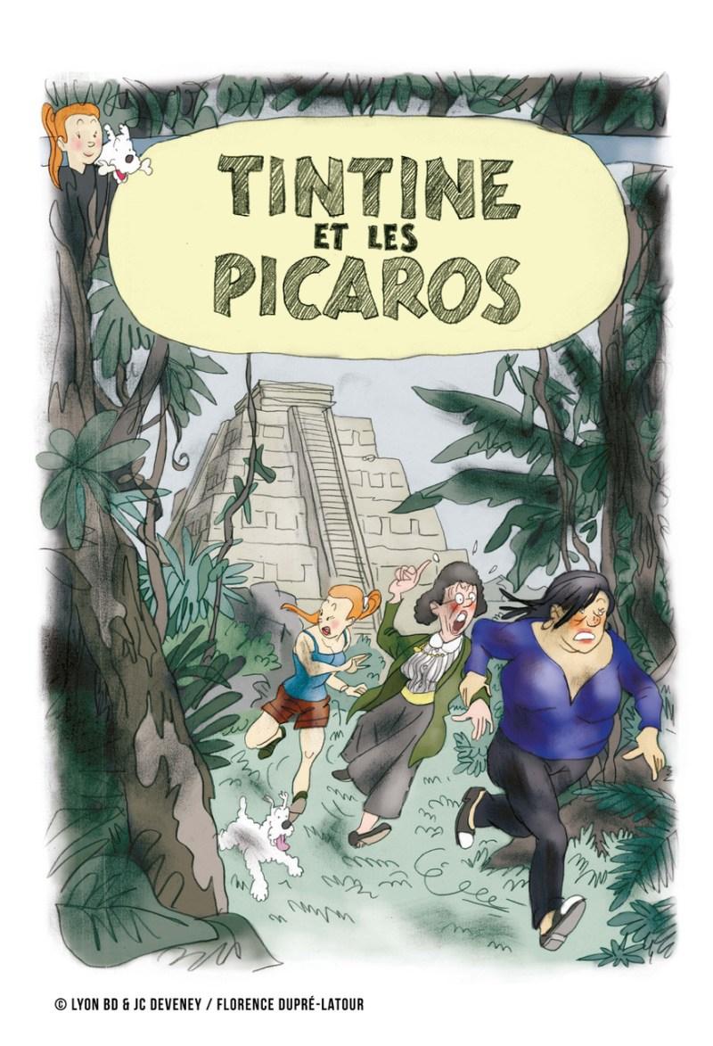 """""""TinTine et les Picaros"""" by Florence Dupré-Latour"""