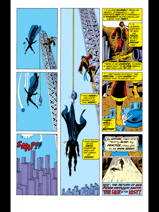 Special Marvel Edition #16 - Death Fall