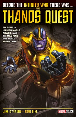The Thanos Quest - Panini Comic UK Cover