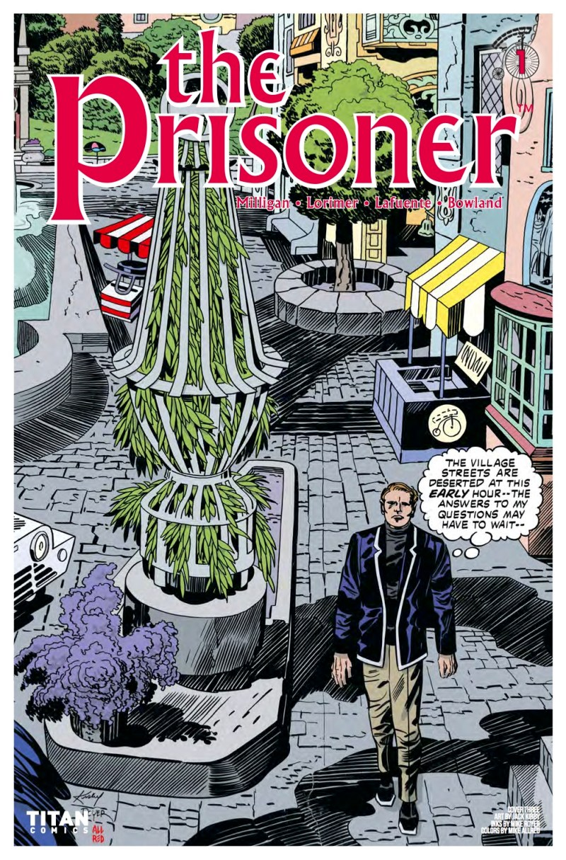 The Prisoner #1 Cover C: Mike Allred, Jack Kirby