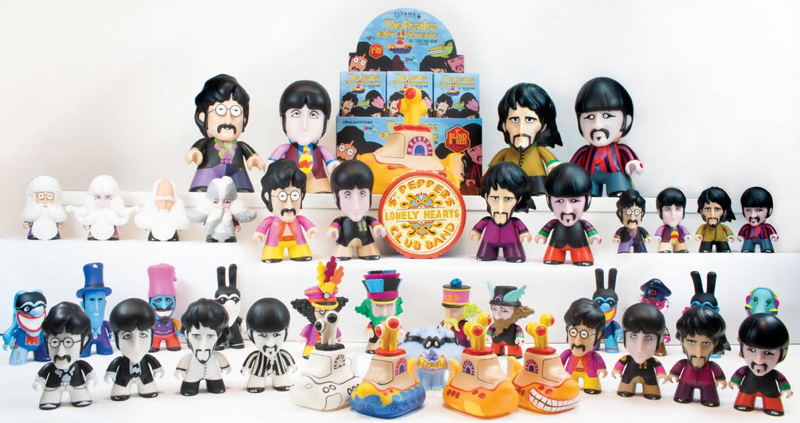 The Beatles - All Together Now Figures