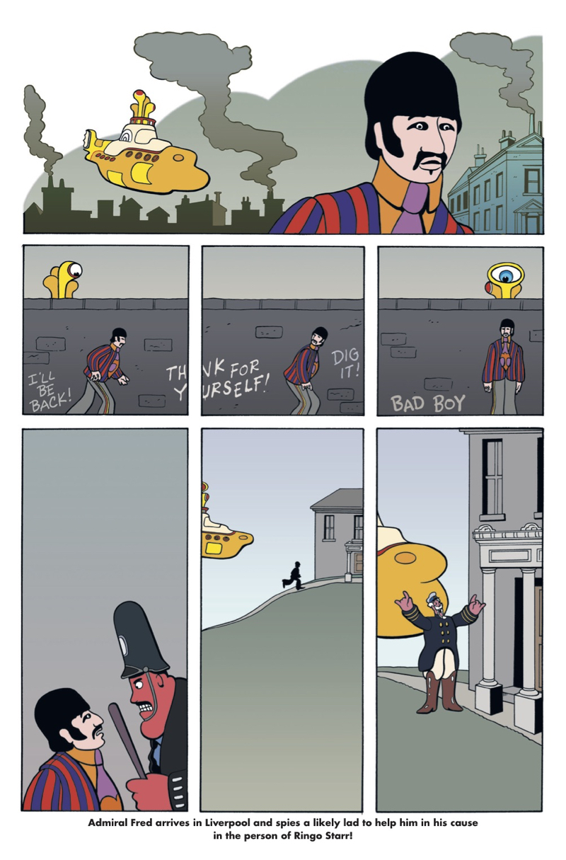 Yellow Submarine - Preview 2
