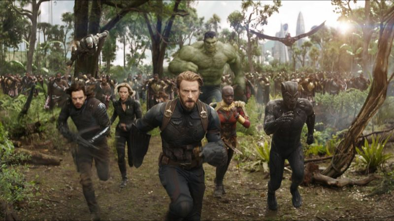 Avengers: Infinity War - Promitional Image