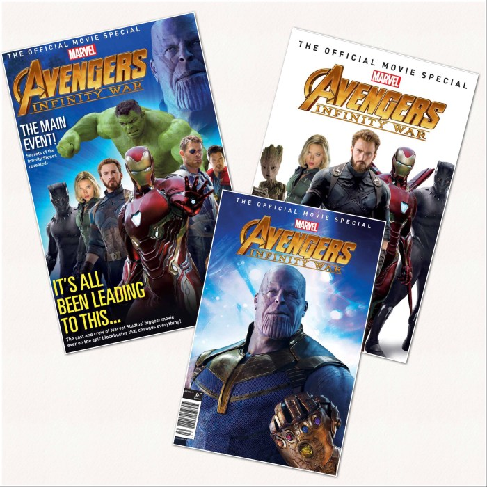 Marvel's Avengers: Infinity War Official Collector's Edition Covers