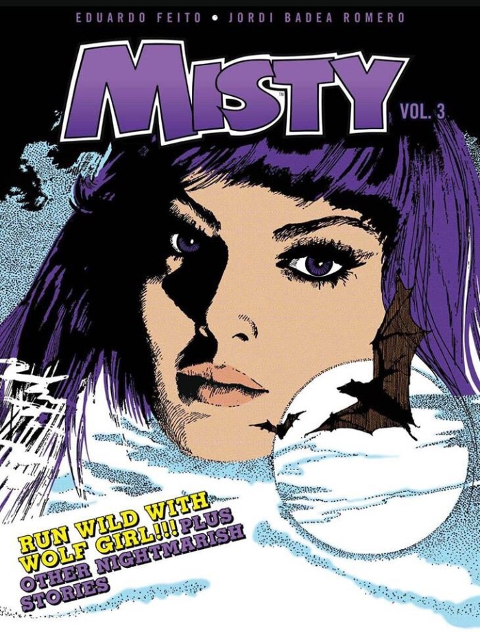 Misty Volume 3: Wolf Girl & Other Stories