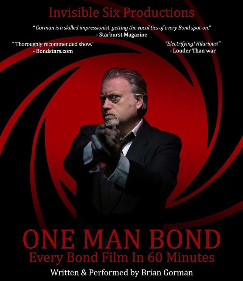 One Man Bond: Every Bond Film In 60 Minutes