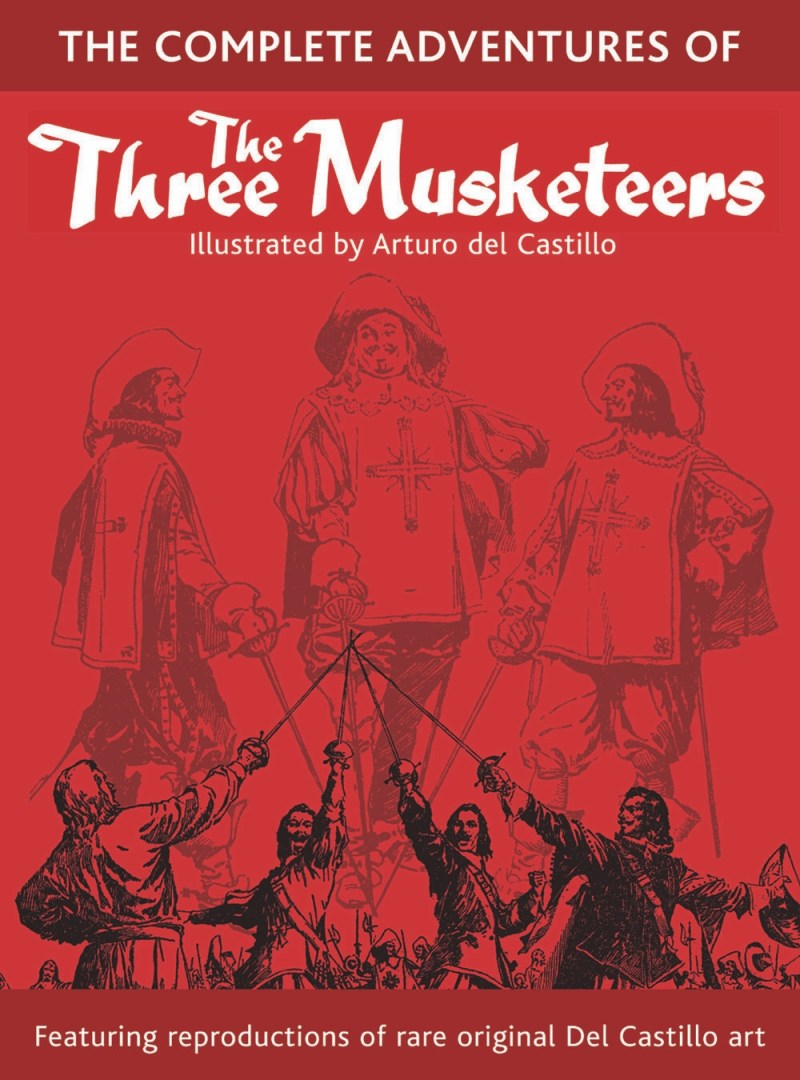 The Complete Adventures of The Three Musketeers - Cover