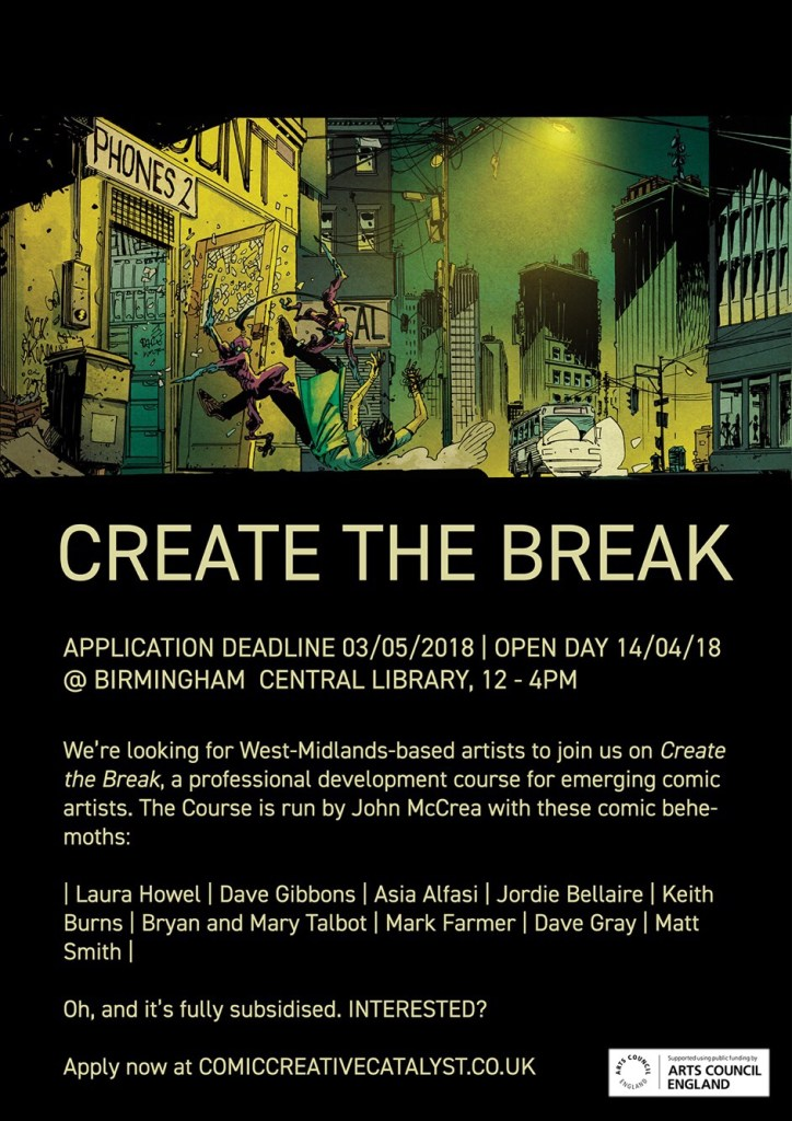 Create the Break - Promotional Poster