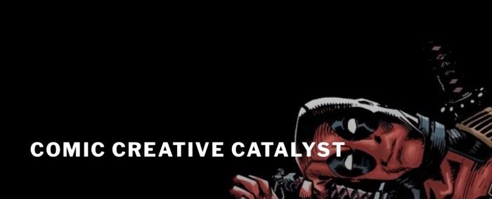 Create the Break - Comic Creative Catalyst Logo