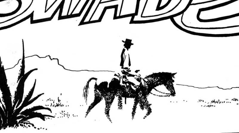 """Ally Sloper Issue One - """"Swade"""" Page One by Frank Bellamy SNIP"""