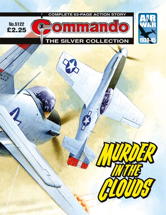 Commando 5122: Silver Collection - Murder in the Clouds