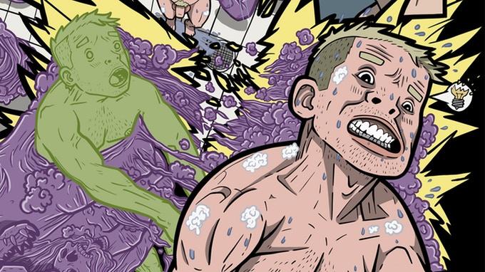 Darkboy & Adler #1 - Preview Art