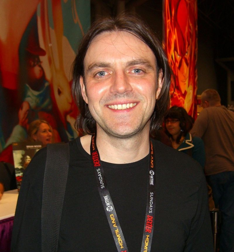 Frank Quitely. Photo: Luigi Novi