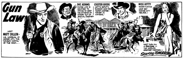 """In Praise of… Comic Artist Harry Bishop, creator of """"Gun Law"""" and more"""