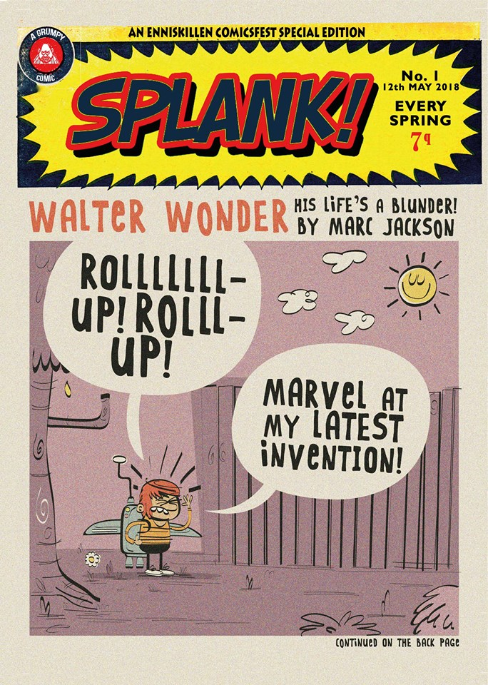 Splank Issue One - Cover