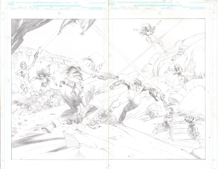 Wild Thing #11 - art by Brian Apthorp - Page 20 - 21