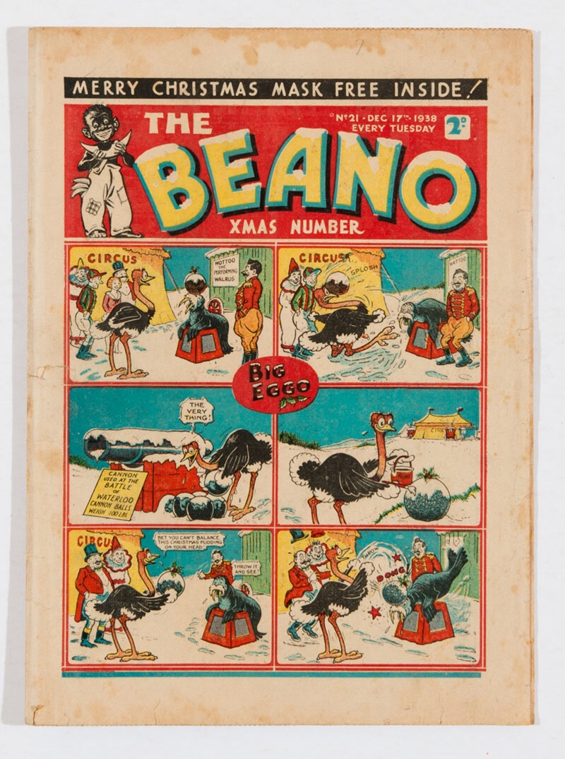 Beano 21 (1938). First Christmas Number, featuring the first