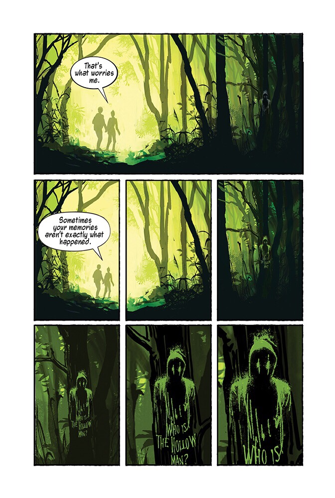 Hollow Monsters #1 art by Monty Nero