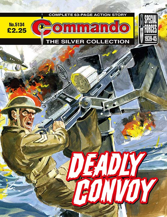 Commando 5134: Silver Collection: - Deadly Convoy