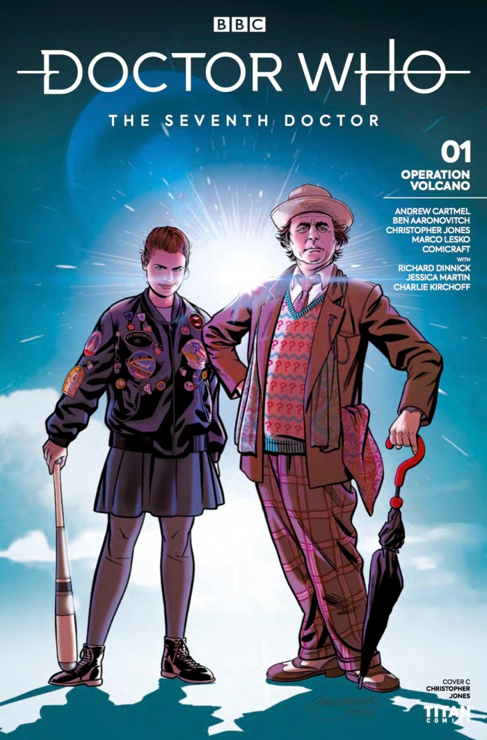 Doctor Who - The Seventh Doctor - Operation Volcano #1 Cover C by Christopher Jones