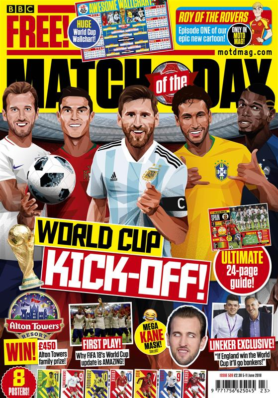 Match of the Day Magazine Issue 509