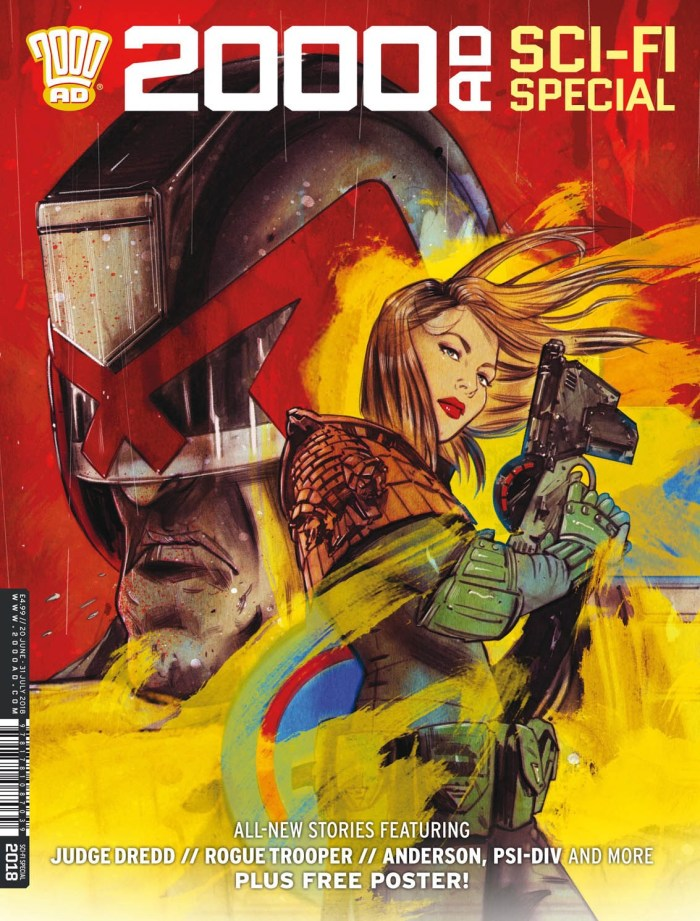2000AD Sci-Fi Special 2018 Cover - Tula Lotay
