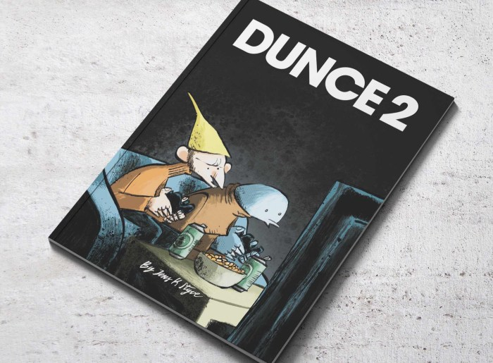 Dunce Issues 1 - 3 by Jens K Styve